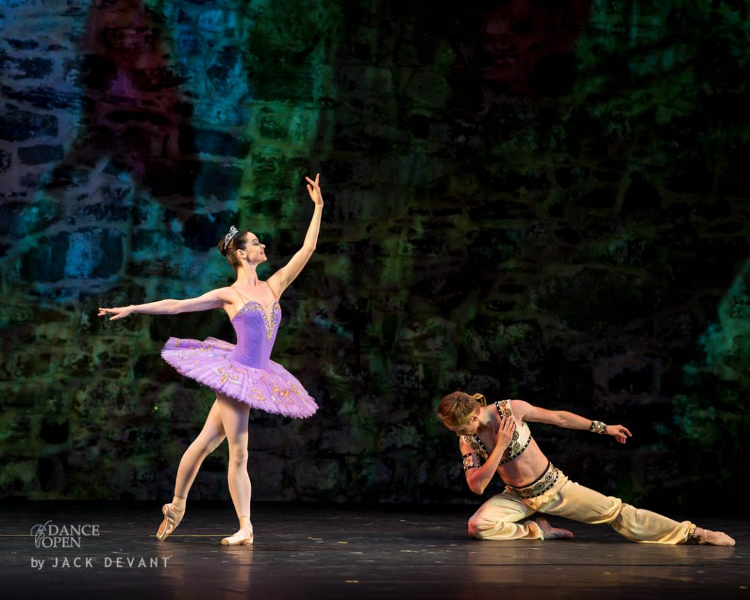 Music by A. Adam Choreography by M. Petipa Pas de Deux from Le Corsaire Performed by Anastasia Kolegova and Leonid Sarafanov