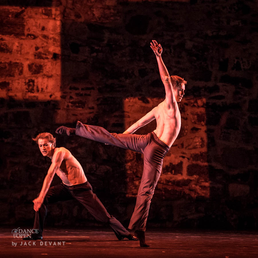 Choreography by E. Clug Fragment from the ballet Quatro Performed by Leonid Sarafanov and Denis Matvienko