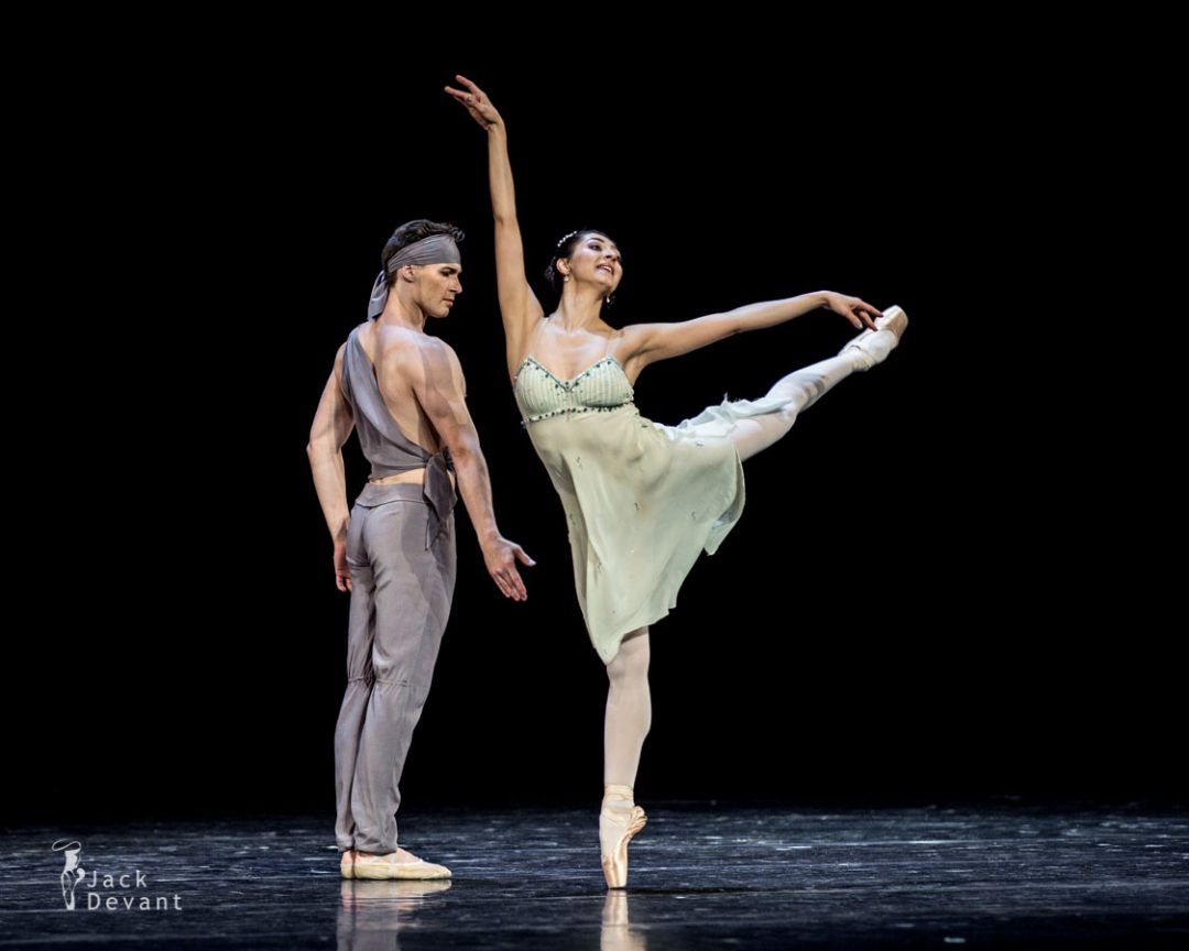 Chinara Alizade and Alexander Smoliyaninov in The Talisman