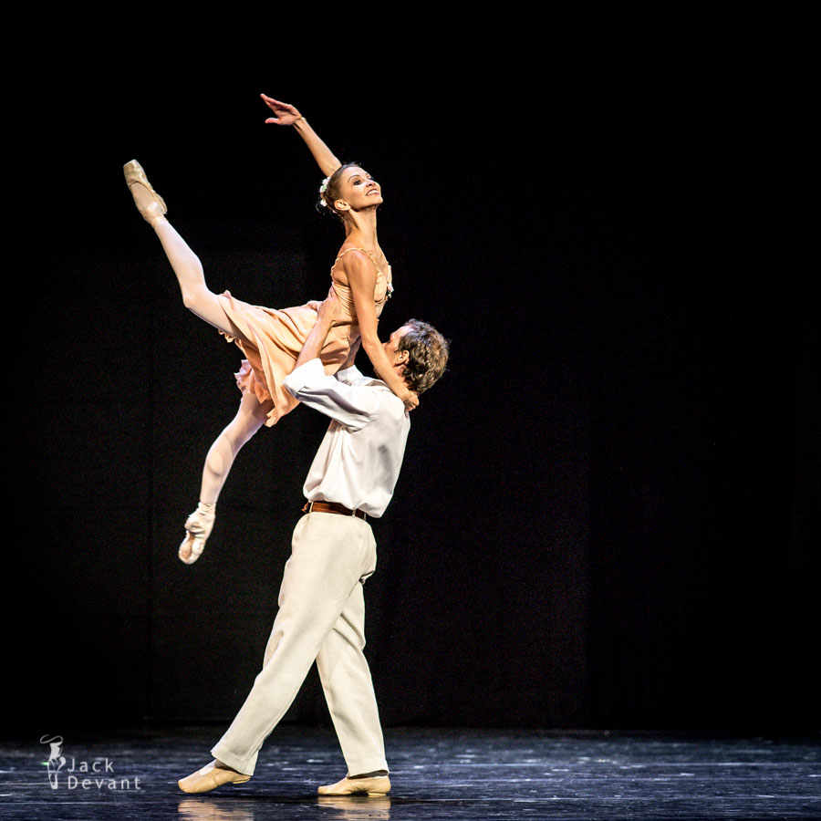 Anastasia Stashkevich and Vyacheslav Lopatin in Waltz