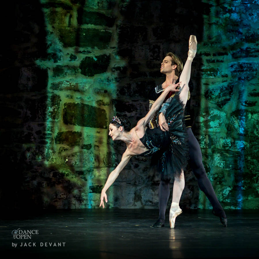Swan Lake - Anna Tsygankova Matthew Golding Black Swan act