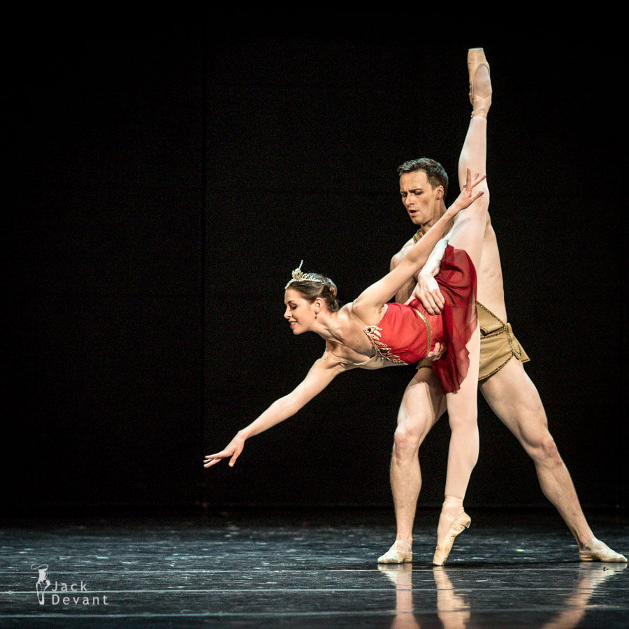 Daria Khokhlova and Alexander Smoliyaninov in Diana and Acteon La Esmeralda