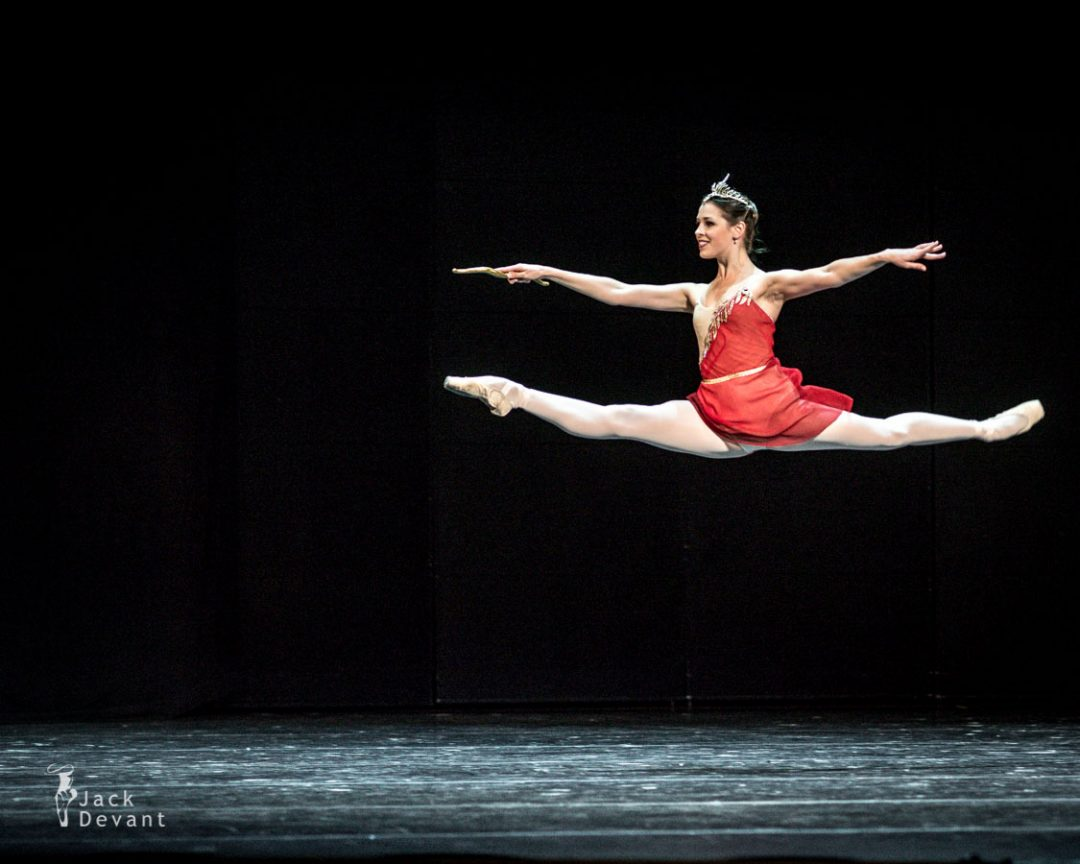 Daria Khokhlova in Diana and Acteon La Esmeralda jete