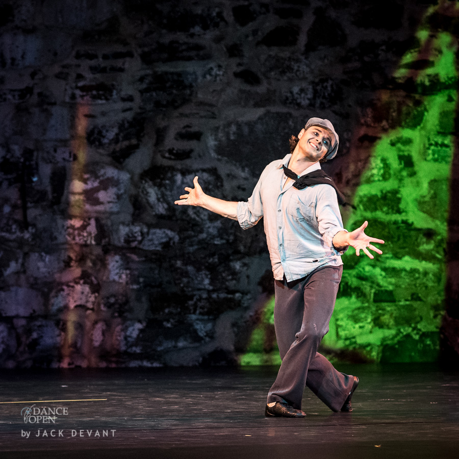 Anton Korsakov in The Young Lady and a Hooligan, music by Dmitry Shostakovich; choreography by Konstantin Boyarsky