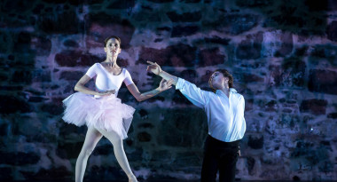 Sabina Yapparova and Anton Korsakov in Music Box