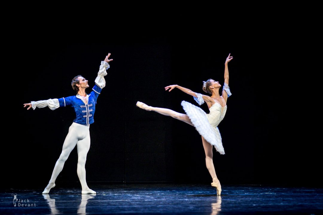 Anastasia Stashkevich and Vyacheslav Lopatin in The Nutcracker,  music by P. Tchaikovsky, choreography M. Petipa