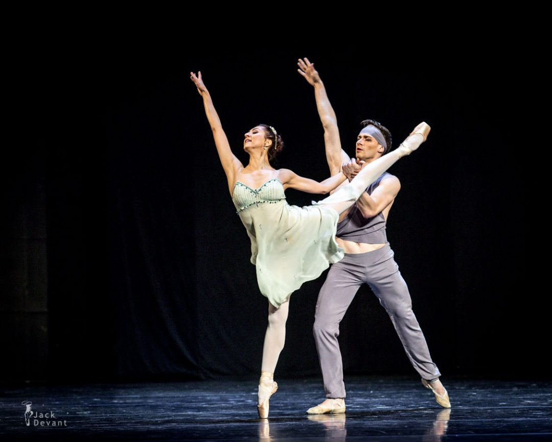 Chinara Alizade and Alexander Smolianinov in The Talisman pas de deux,  music by R.Drigo, choreo M Petipa
