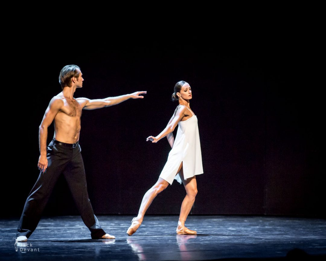 Vera Arbuzova and Andrey Kasyanenko in Inside. Behind The Sleep Music,  music by Arvo Pärt, choreo by V. Arbuzova