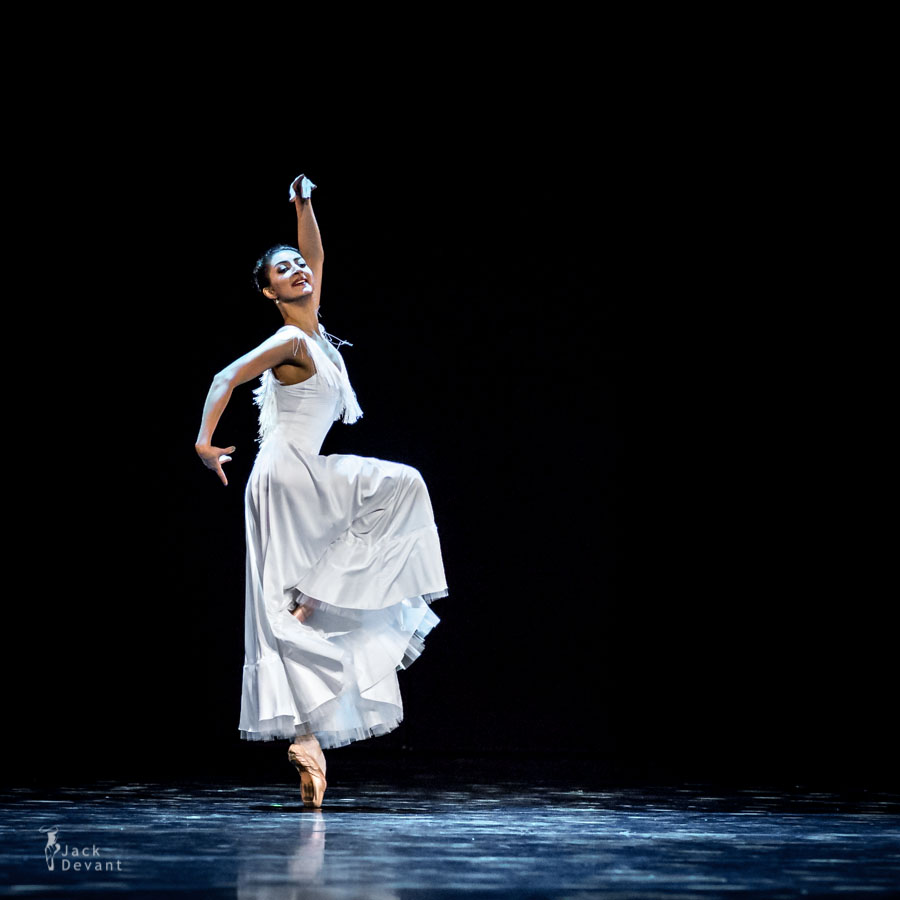 Chinara Alizade in Fragments of One Biography,  music by A Piazzolla, choreo V Vasiliev