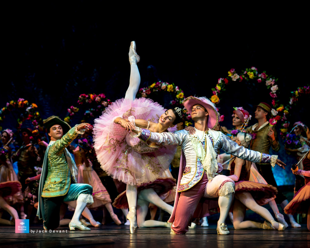 The Sleeping Beauty by Kremlin Ballet Theatre, Aleksandra Timofeeva and Mikhail Martyniuk at Birgitta Festival