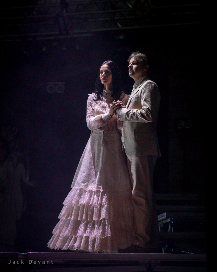 Marfa – Elina Shimkus (Latvia) and Ivan - Kestutis Alčauskis in The Tsars Bride