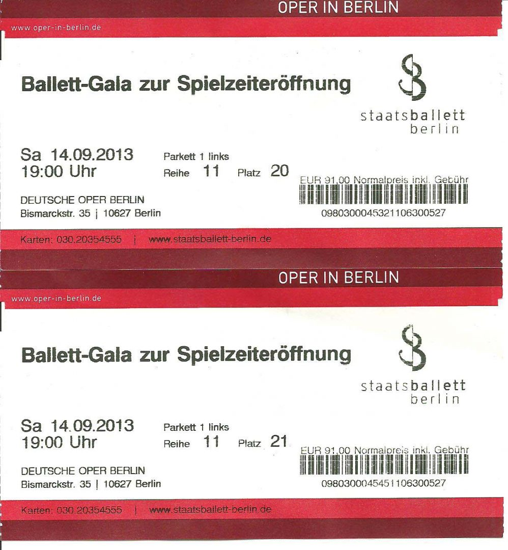 berlin staatsopera staatsballett ticket