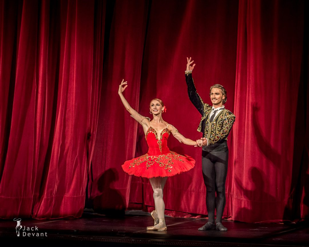 Don Quixote Iana Salenko and Dinu Tamazlacaru curtain call