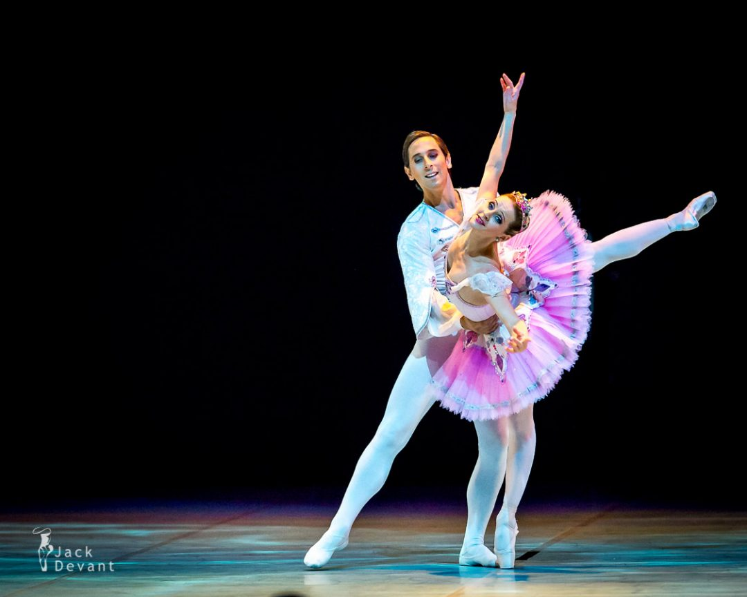 The Nutcracker pas de deux by Luana Georg and Sergei Upkin