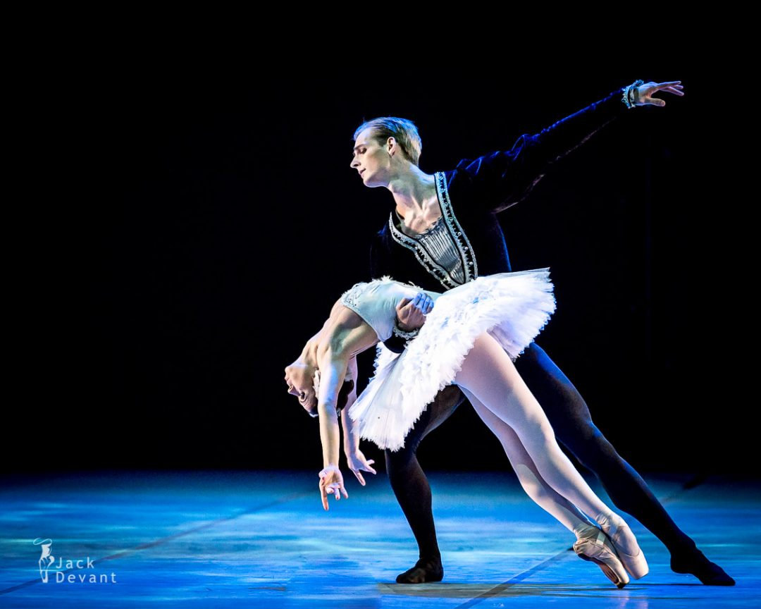 Swan Lake adagio by Galina Rohumaa and Gabriel Davidsson, new choreography by Tiit Härm
