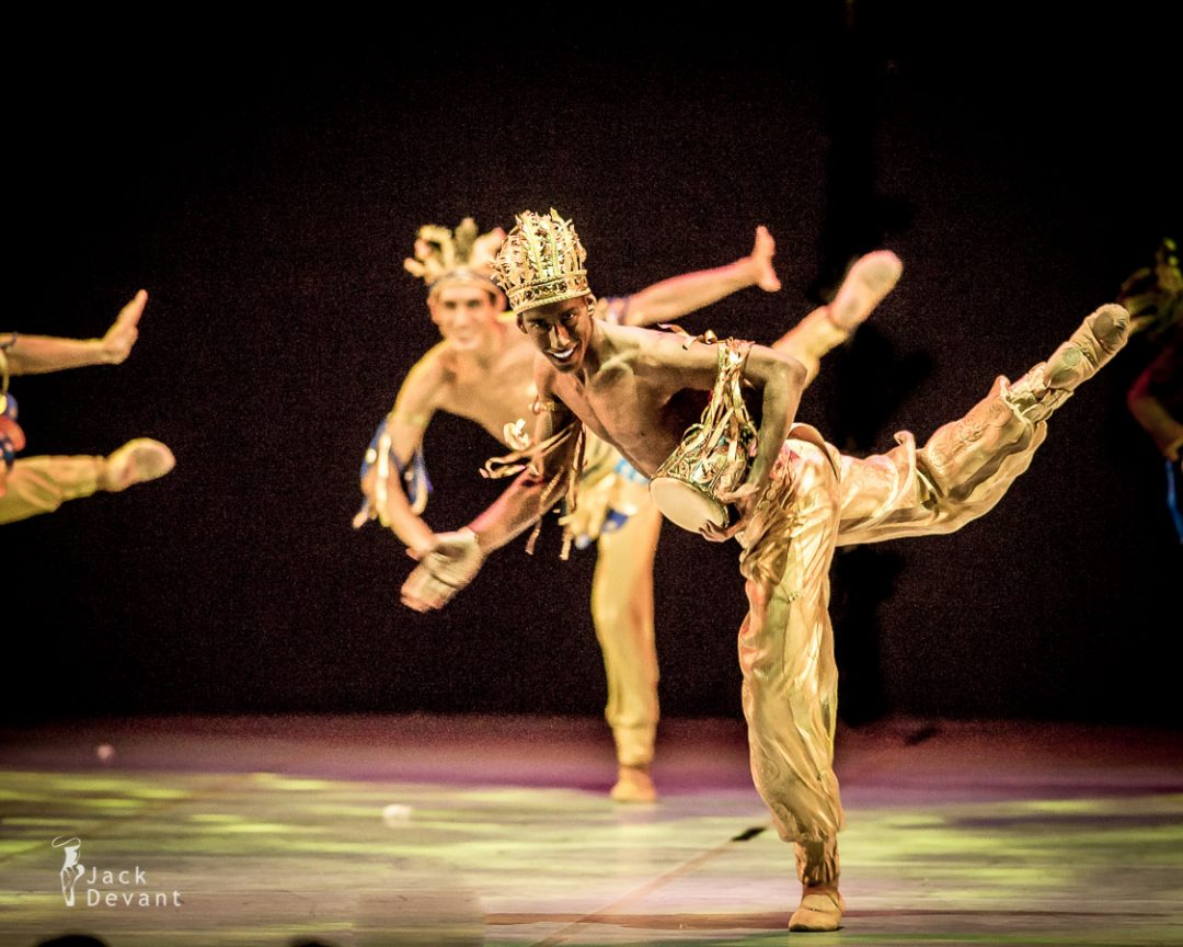 Indian Dance from La Bayadere by Daria Günter, Andrus Laur, Eneko Amaros, new choreography by Thomas Edur
