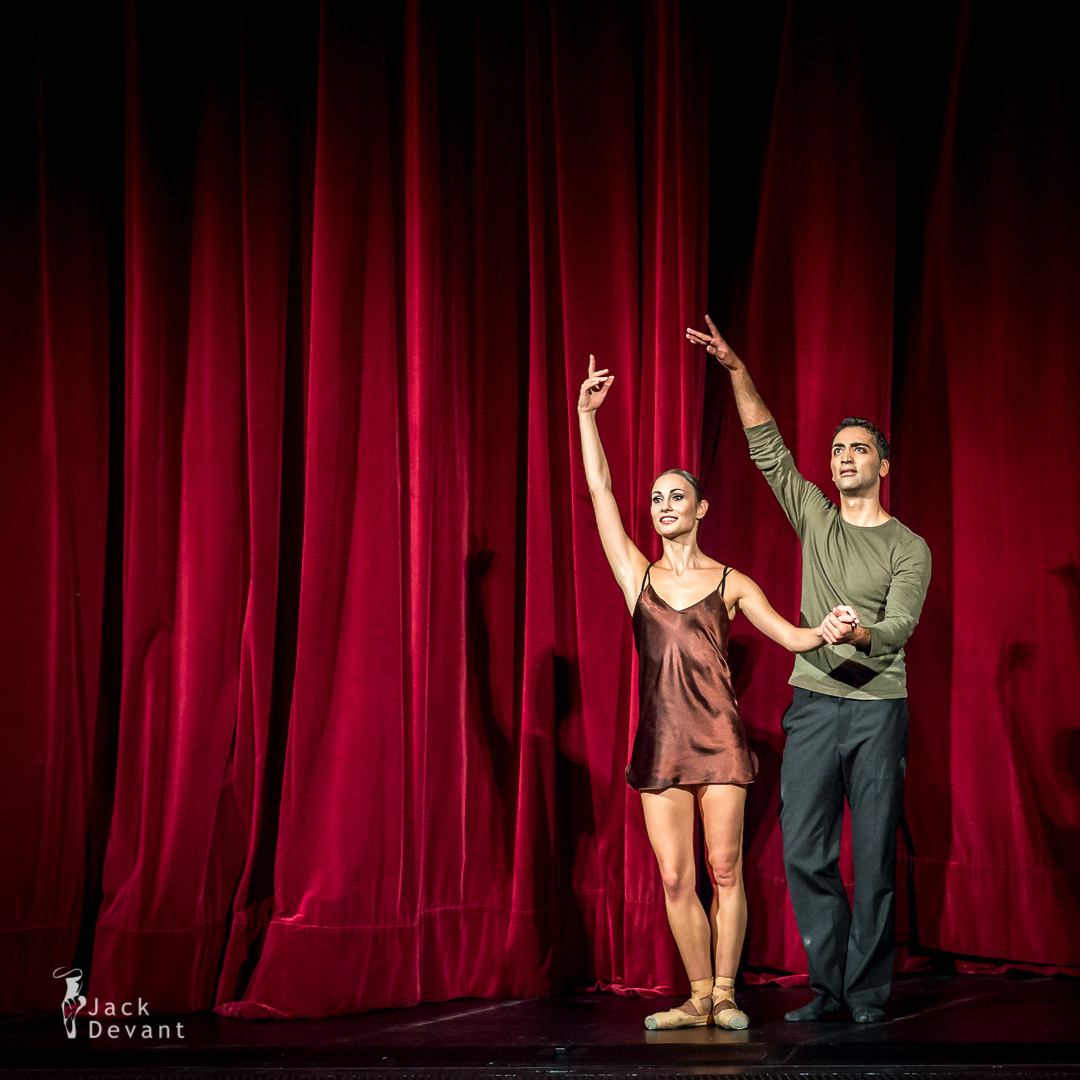 Heute ist das Gestern von Morgen (Today is the Yesterday of Tomorrow) by Krasina Pavlova and Arshak Ghalumyan curtain call