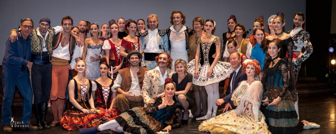 After the Don Quixote, Denis and Anastasia Matvienko and Maribor Ballet