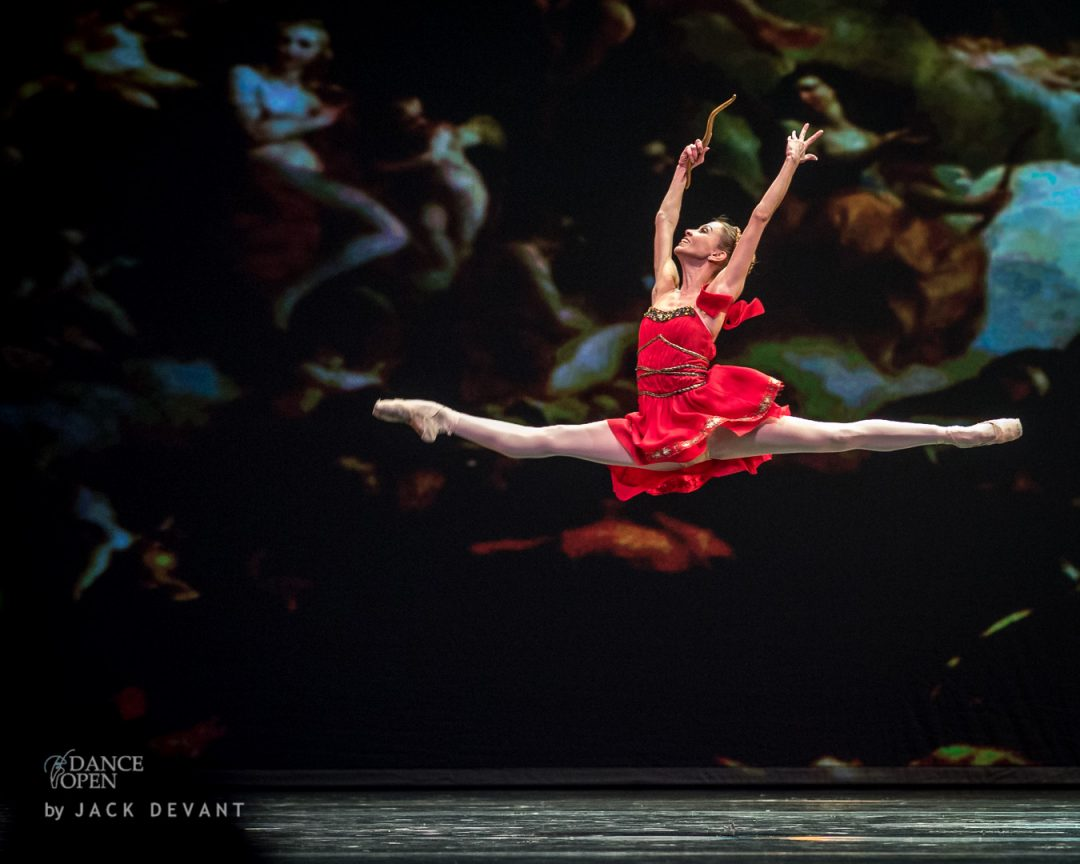 Diana and Acteon by Anastasia Stashkevich and Mikhail Lobukhin, music by Cesare Pugni, choreography by Agrippina Vaganova