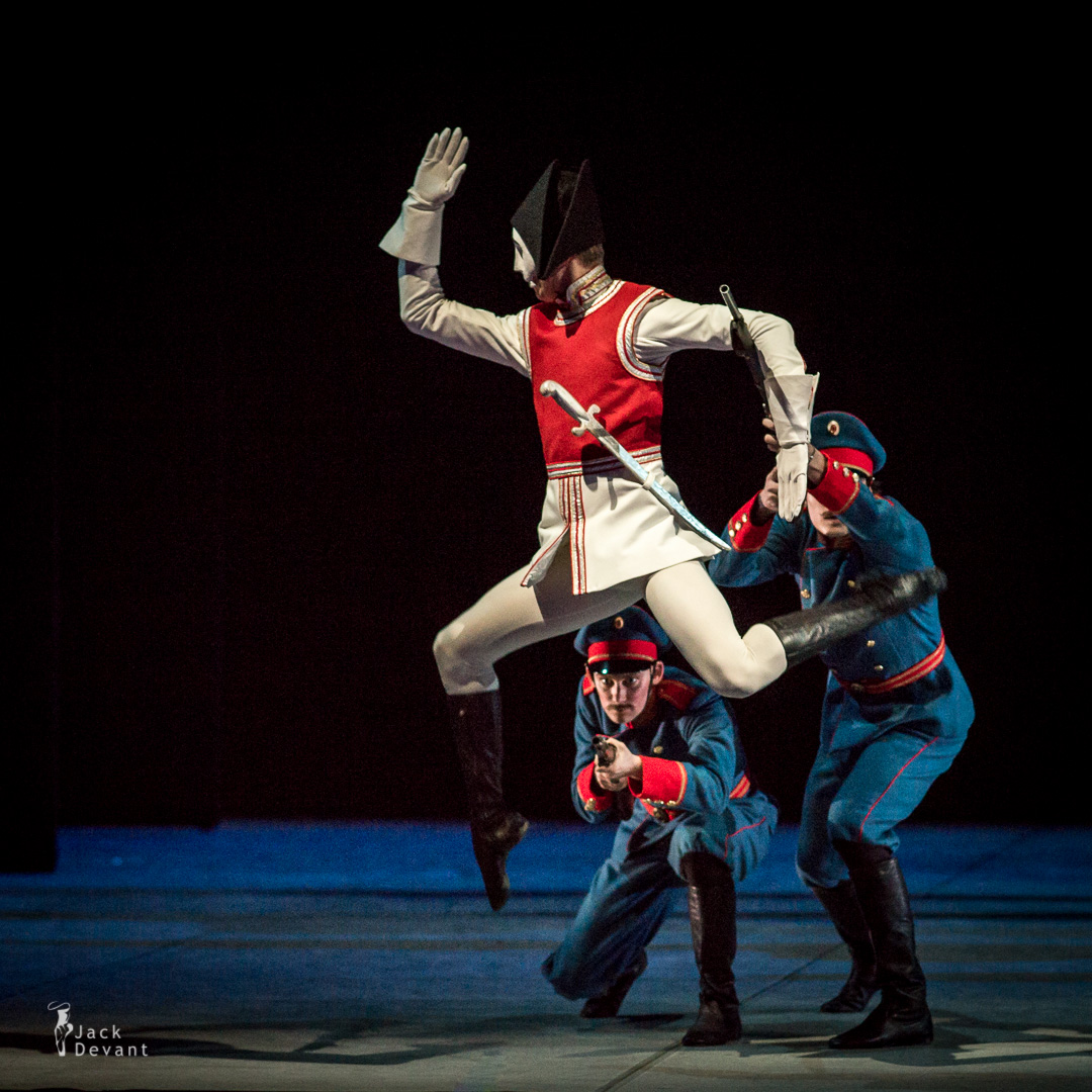 Leonid Sarafanov as The Nutcracker doll