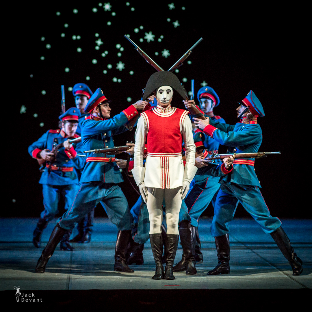 Leonid Sarafanov as The Nutcracker army