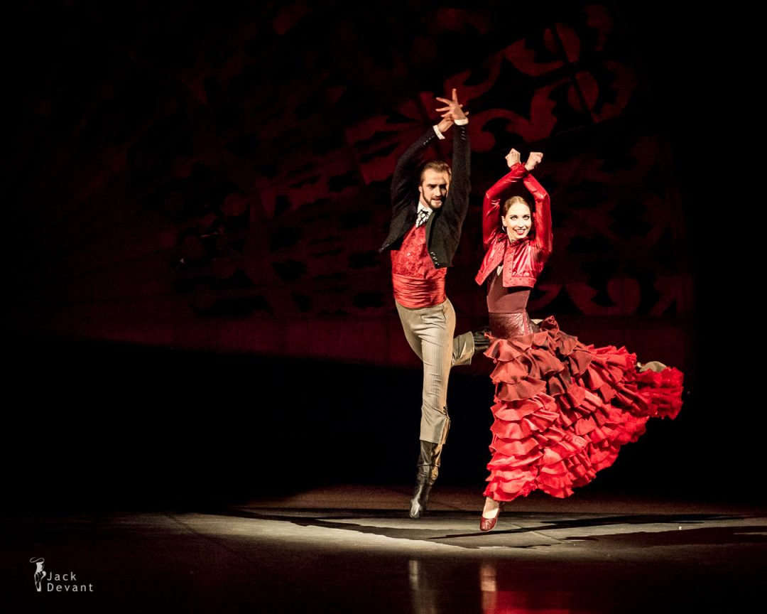 Nutcracker Spanish dance - Valeria Zapasnikova and Andrey Kasyanenko