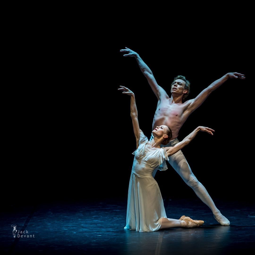 Nadja Saidakova and Vladimir Malakhov Leda and the Swan