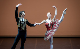 Iana Salenko and Dinu Tamazlacaru in Don Quixote PDD