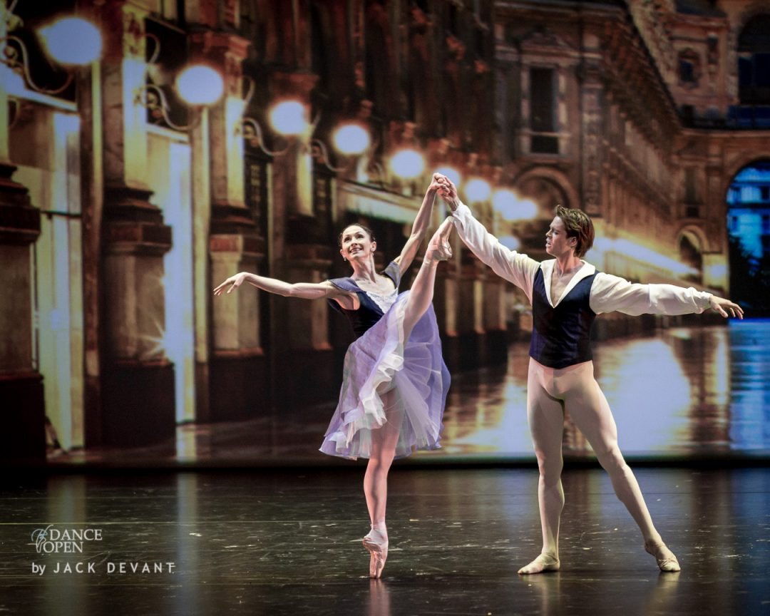 Anna Tsygankova and Matthew Golding in Delibes Suite