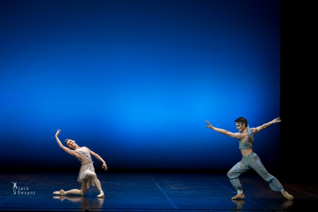 Maria Baranova and Tuukka Piitulainen (Finnish National Ballet) in The Talisman