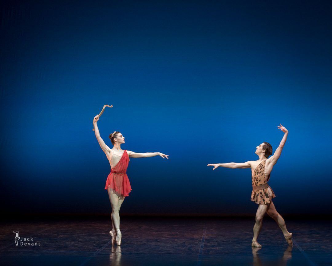 Maria Baranova and Sergei Upkin in Diana and Acteon