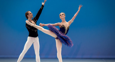 Olga Golitsa and Sergey Sidorsky in Classical Pas de Deux