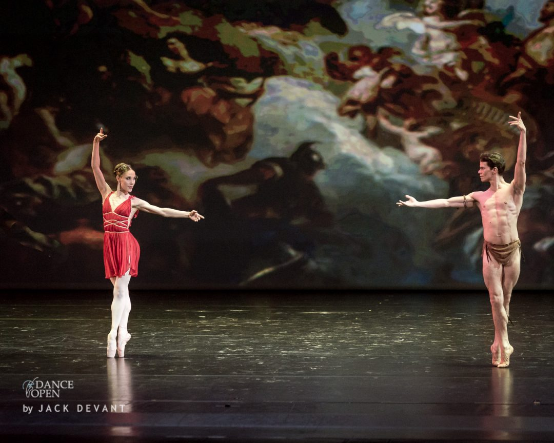 Yolanda Correa, Joel Careno Diana and Acteon Pas de deux from Esmeralda