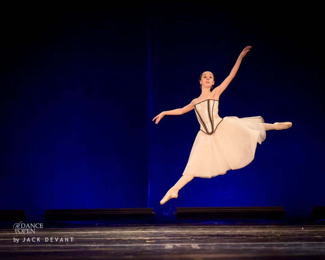 Sarah Sprcova in Swan Lake variation