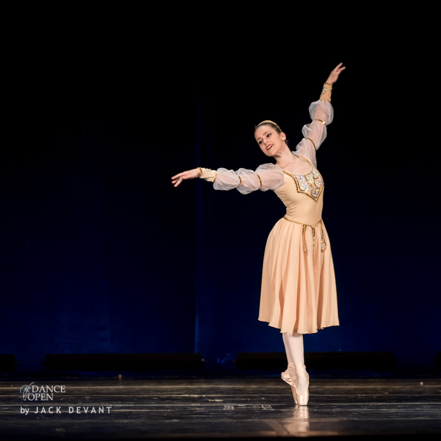 Sydney Elizabeth Keir in Swan Lake variation