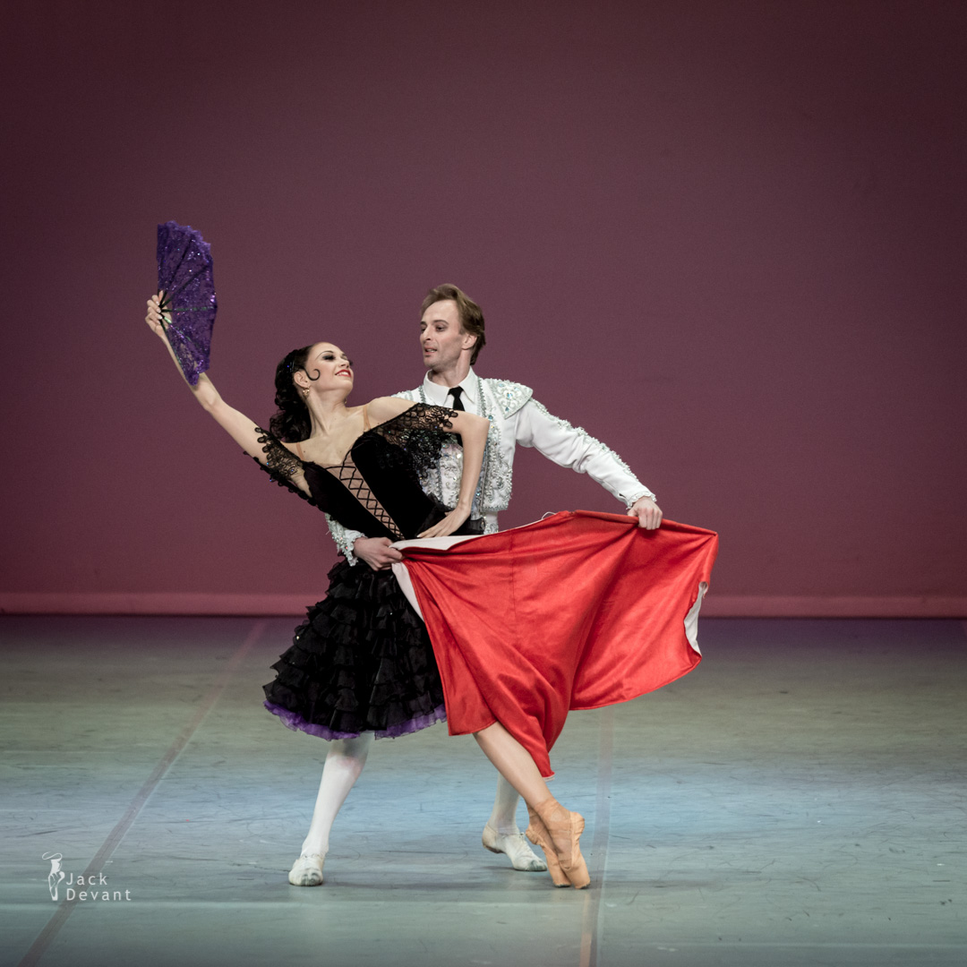 Julia Moskalenko and Oleksandr Shapoval in Don Quixote