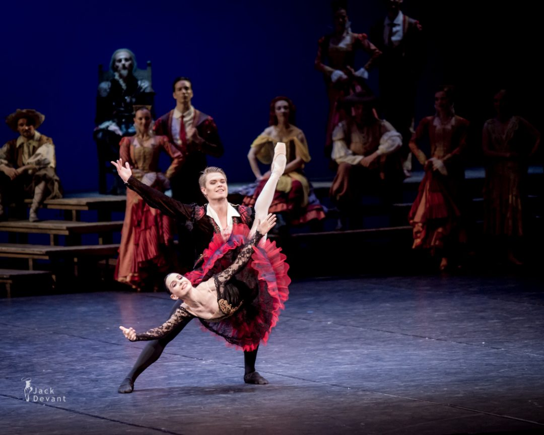 Tamara Rojo and Frans Valkama in Don Quixote