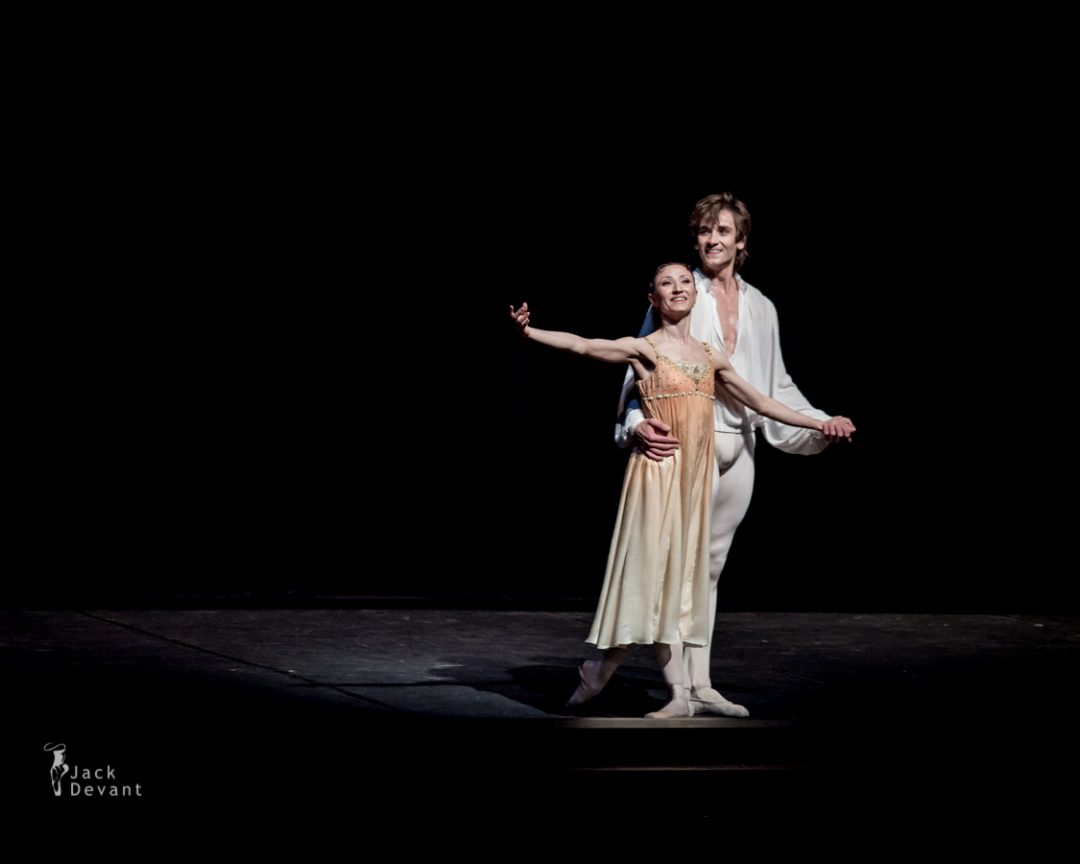 Petia Ilieva and Friedemann Vogel in Romeo and Juliet