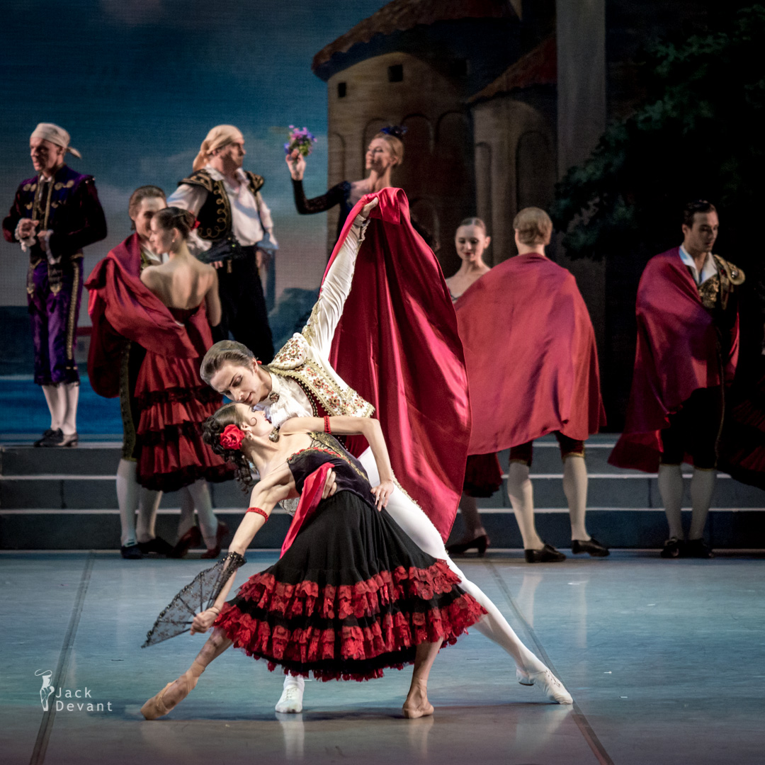 Anastasia Soboleva as street dancer (debut) Don Quixote