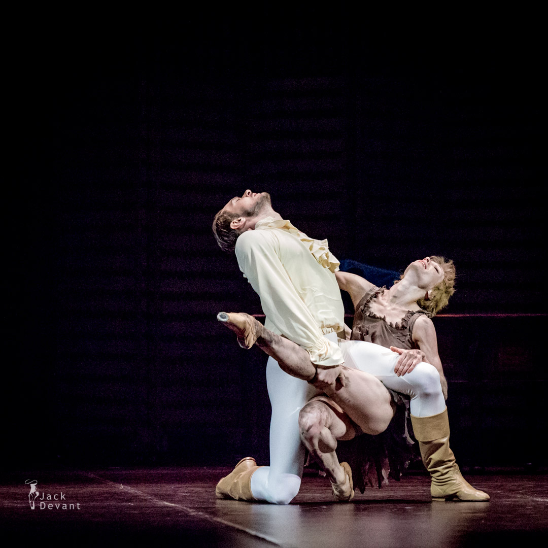 Tatiana Melnik, Mikhail Pukhov and Alban Lendorf in Manon