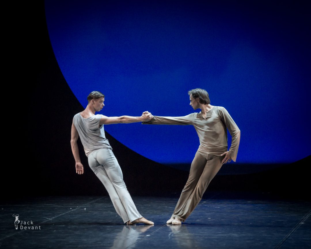 Evgeny Grib and Oleg Gabyshev duet in Requiem act 2