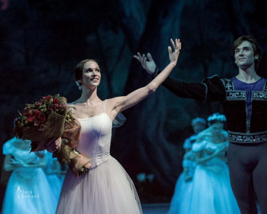 Giselle, Polina Semionova and Friedemann Vogel in Mikhailovsky Theatre