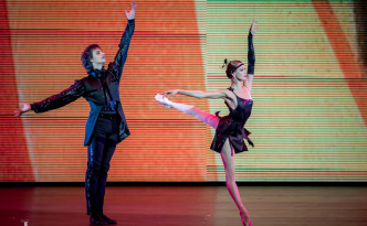 Ulyana Lopatkina and Marat Shemiunov in the Tango from Golden Age