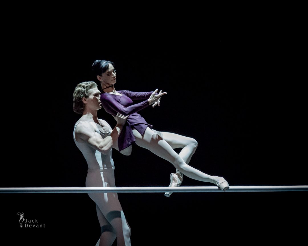 Lucia Lacarra and Marlon Dino in Three Preludes 1