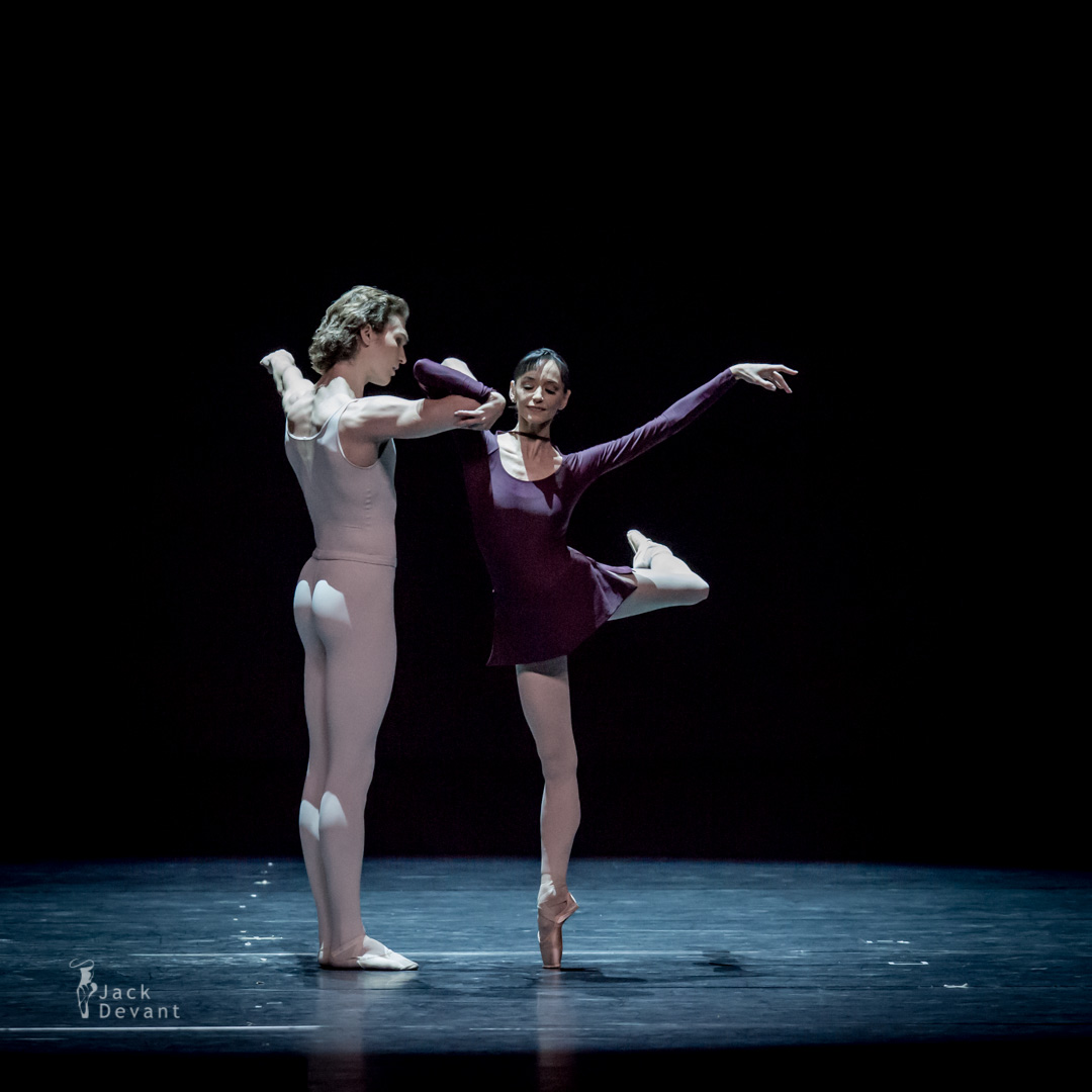 Lucia Lacarra and Marlon Dino in Three Preludes II
