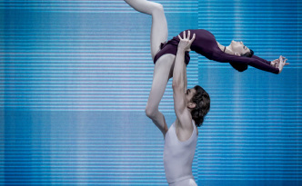 Lucia Lacarra and Marlon Dino in Three Preludes