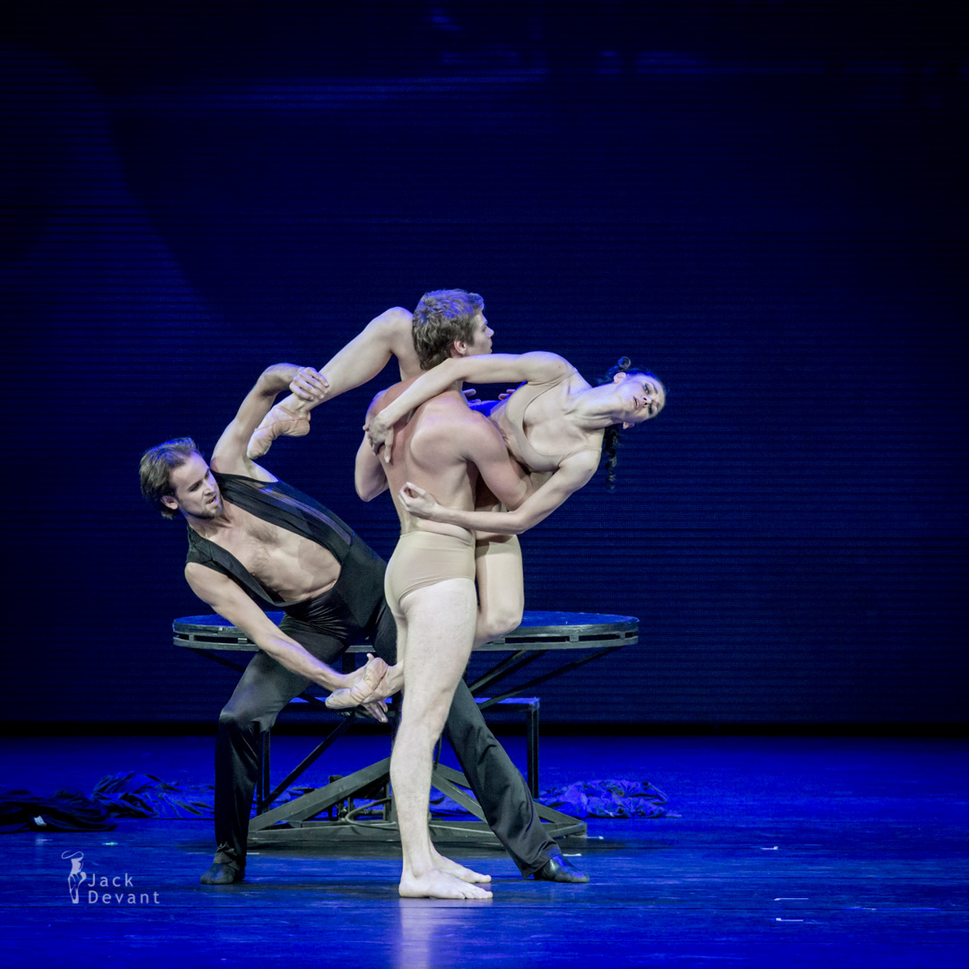 Lyubov Andreyeva, Oleg Gabyshev and Eifman Ballet Dancers in Dance Macabre from Rodin