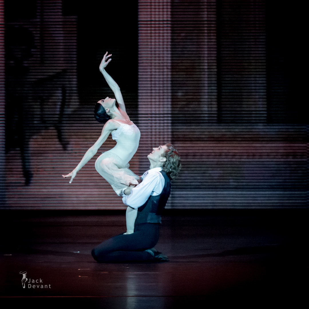 Lucia Lacarrra and Marlon Dino in Lady of the Camellias
