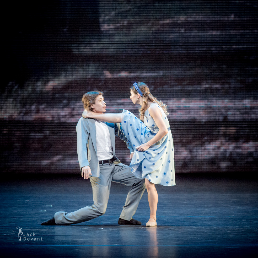 Anna Tikhomirova and Artem Ovcharenko in The Very Thought of You