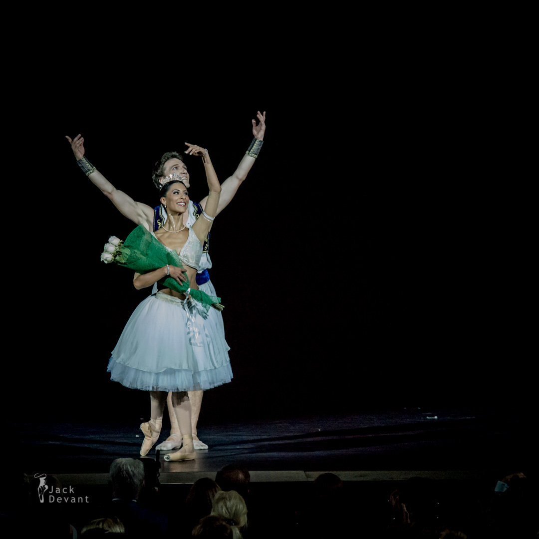 Elisa Carrillo Cabrera and Mikhail Kaniskin in La Peri